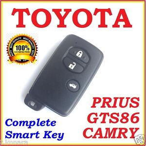 Toyota Smart Remote Key Camry Prius Gts86 3 Button