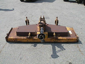 Woods Rm600 5 Ft 3 Point Hitch Finish Mower
