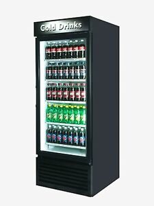 2 X Coke Cold Drink Single Door Reach In Cooler Refrigerator Brand New 27 Cu