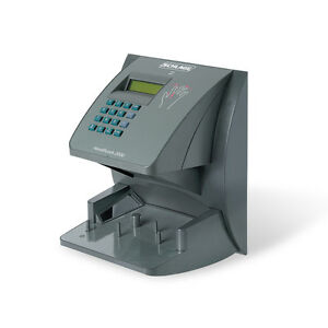 New Handpunch 3000 Biometric Time Clock 1 Warranty From An Authorized Dealer
