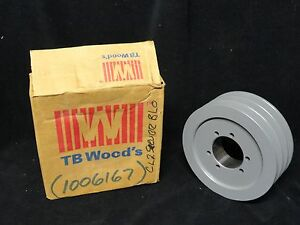 Tb Woods V belt Pulley 3 Groove Model 603b 6 0x3b sd New In The Box