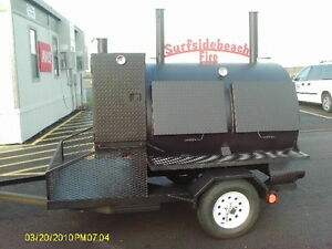 4860 Rotisserie Bbq Grill Smoker Cooker On Trailer By Heartland Cookers