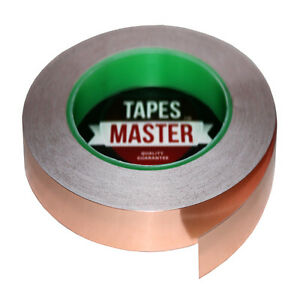 Copper Foil Tape 1 2 X 36 Yds 12mmx33m Emi Conductive Adhesive Ship From