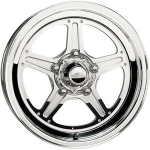 Billet Specialties Rs035406522n Street Lite Polished 15 X 4 Inch Wheel