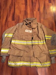 Firefighter Globe Turnout Bunker Coat 50x35 G xtreme Halloween Costume
