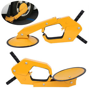2pcs Parking Boot Tire Claw Wheel Clamp Truck Trailer Vehicle Anti Theft Lock