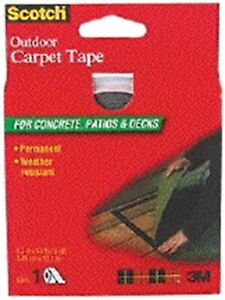 Outdoor Carpet Tape By 3m Company 3pk