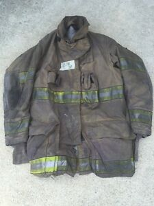Firefighter Turnout Bunker Coat Globe G extreme 43x35 Halloween Costume