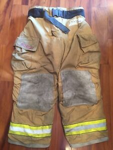 Firefighter Bunker Turnout Gear Pants Globe 40x30 G Extreme Halloween Costume