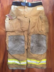Firefighter Bunker Turn Out Gear Pants Globe 42x30 G Extreme Halloween Costume
