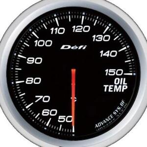 Defi Advance Bf White 60mm Oil Temperature Gauge Metric