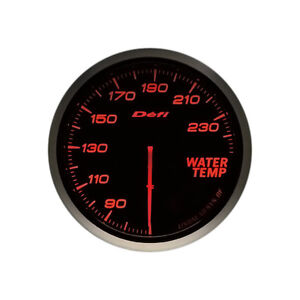 Defi Advance Bf Amber 60mm Water Temperature Gauge Imperial