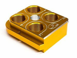 Dillon Precision RL550B Style tool head Billet Aluminum CNC Made ToolheadYELLOW