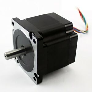 Nema 34 640 Oz in Stepper Motor kl34h280 45 8b Dual Shaft