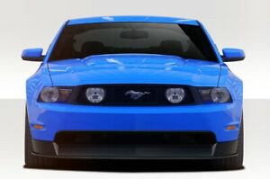 Mustang R500 Front Lip Under Air Dam Spoiler 2 Piece Fits Ford Gt 10 12 Dur