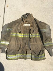 Firefighter Turnout Bunker Coat Globe 46x35 G Extreme Halloween Costume