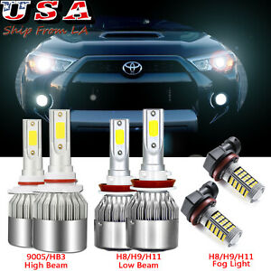 Philips H8 H9 H11 H16j High Power 160w Led Conversion Kit For Headlight 12000lm
