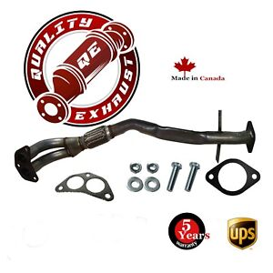2003 2004 2005 2006 Mitsubishi Outlander 2 4l Awd Exhaust Front Flex Pipe