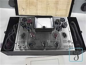 Wwii Navy Radio Analyzing Tester Oae For Tubes