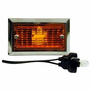 Peterson V126a Amber Rectangular Clearance Side Marker Light
