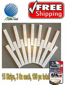Wheel Weights Stick on Adhesive Tape Weight 1 4 Oz 0 25 45 Oz 180 Pieces