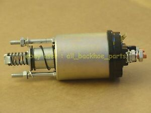 Jcb Backhoe Solenoid Switch Starter Motor part No 714 40160