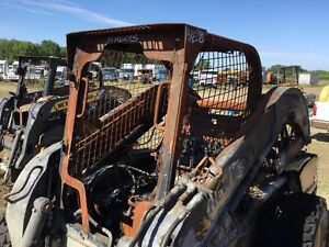 2014 New Holland L230 Cab Shell roll Over Protection Heat Damaged