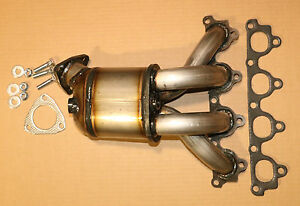 1996 1997 1998 1999 2000 Honda Civic 1 6l Exhaust Manifold W Catalytic Converter