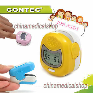 Lcd Pulse Oximeter Finger Tip Children kids pediatric Use Spo2 Oxygen Saturation