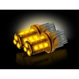 Recon 264220am 3157 360 Degree Led Bulb 3w Ultra High Power Amber