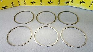 Ferrari 246 Dino 246 Gt Series 1 6 Piston Rings For Crankshaft