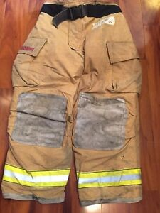 Firefighter Bunker turn Out Gear Globe G Extreme 42w X 30l Halloween Costume