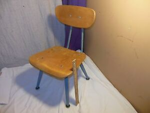 Vintage Mid Century Modern American Seating Child School Chair Classmate Eames W