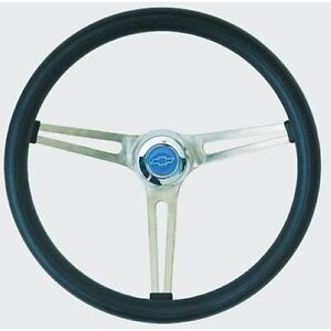 Grant 969 Classic Nostalgia Gm Series Steering Wheel 15 Diameter Black Grip