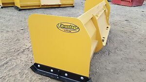 Snow Pusher Box Blade Plow Skid Steer Backhoe Bobcat 6 Ft Best Value Guaranteed
