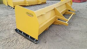 Snow Pusher Box Blade Plow Backhoe Loader 14 Ft Best Value Guaranteed