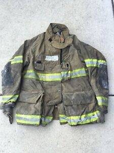 Firefighter Globe Turnout Bunker Coat 51x35 G xtreme Halloween Costume