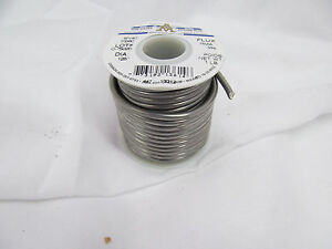 Aim 30 1 Lb Spool Of Wire Solder Flux Sn 40 Pb 60 125 Rosin Core Ebmz0801