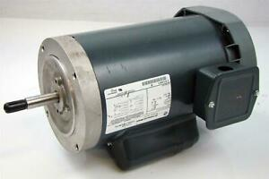 Ge Single Phase Motor 2hp 115 230v Rpm 3450 Frame 56j