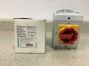 Siemans Emergency Stop Switch 3ld2164 1gp53 0us2 new