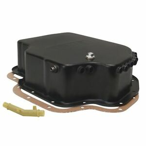 Derale 14202 Gm Th 400 Deep Transmission Cooling Pan Steel Black Powdercoated