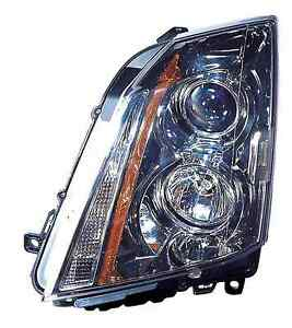 Cadillac Cts Sedan 2008 2009 2010 2011 2012 2013 2014 Left Driver Headlight
