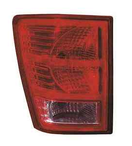 New 2007 2008 2009 2010 Tail Light Left Driver Fit For Jeep Grand Cherokee