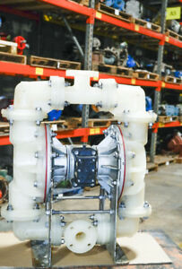 Sandpiper 1 5 Ansi Air operated Double diaphragm Pump Rebuilt W warranty