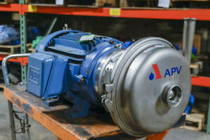 Apv W 70 40 Sanitary Centrifugal Pump Package New Surplus
