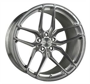 19 Inch Stance Sf03 Brush Titanium Wheels Bmw Bentley Cadillac Corvette
