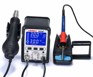 Yihua 995d Hot Air Rework Soldering Station For Motherboard Repair Tools 110v Y