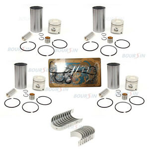 Overhaul Rebuild Kit For Isuzu Npr Truck 4bc2 Engine 3 3l Elf