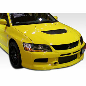 Evolution 8 9 Mr Edition Front Bumper Cover 1 Piece Fits Mitsubishi Lancer