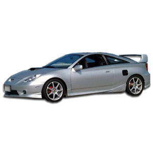 Td3000 Side Skirts Rocker Panels 2 Piece Fits Toyota Celica 00 05 Duraflex